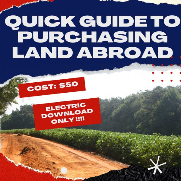 A Quick Guide to Owning International Land & Managing Infrastructure Projects